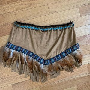 Native American Skirt for Halloween